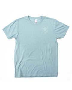 Adult Ice Blue Sustainable Tee